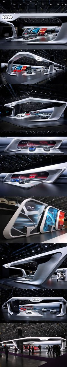 Bringing Design and promotion to another level. Audi Moscow 2012 by Malte…