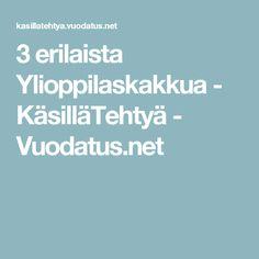 3 erilaista Ylioppilaskakkua - KäsilläTehtyä - Vuodatus.net
