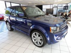 2010 Land Rover Range Rover Sport 3.6 TDV8 SPORT HSE / OVERFINCH EDITION / 22 OVERFINCH ALLOYS / FULL LAND ROVER HISTORY"