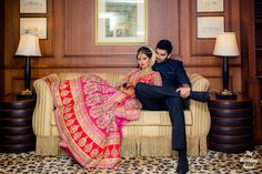 Bollywood Meets Television: Beautiful Wedding Story Of Nikitin Dheer And TV Actress Kratika Sengar - Yahoo Style India Indian Wedding Poses, Indian Wedding Couple Photography, Indian Wedding Photographer, Wedding Photography Poses, Indian Bridal, Photography Ideas, Indian Wedding Receptions, Indian Weddings, Real Weddings