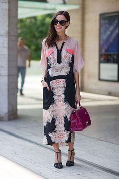 New York Street Style Fashion Week Spring 2014 - New York Fashion Week Spring…