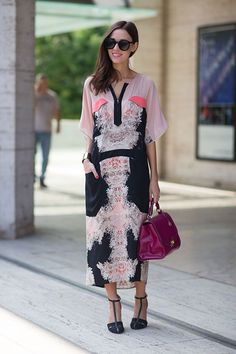 New York Street Style Fashion Week Spring 2014 - New York Fashion Week Spring…