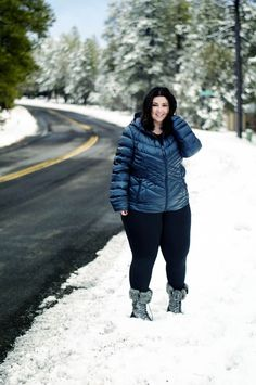 Plus size winter by 'Sometimes Glam'. For more inbetweenie and plus size style ideas go to www.dressingup.co.nz