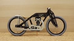 The Dunecraft balance bike is based on an early 1920s Isle of Man TT winning racing motorbike. It is made of top quality birch wood.