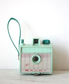 Vintage Mint Green Imperial Savoy camera