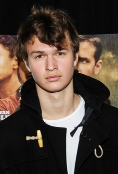 Divergent - Ansel Elgort - oooo so great in TFIOS, man i wish i had my own sexy Augustus waters