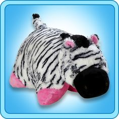 Pillow Pets make the most precious snuggle pal for you or your loved one. A Super-Soft Chenille Plush PillowPet. So cuddly you'll never want to put it down. A great gift for people of all ages - toddlers to teens, expectant mothers to grandmother! Animal Backpacks, Buy Pillows, Animal Jam, Animal Pillows, Plush Dolls, Pillow Pets, Plush Pillow, Large Black