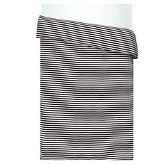 Marimekko Tasaraita duvet cover 150 x 210 cm, black - white Marimekko Bedding, Black Duvet Cover, Linen Duvet, Scandinavian Living, Nordic Design, Contemporary Bedroom, Graphic Patterns, Duvet Covers, Black And White