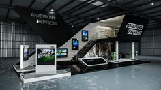 American Express Exhibition Stand Design on Behance