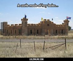 Epic Hay Bale Empire#funny #lol #lolzonline