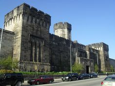 Eastern State Penitentiary located in Philadelphia, Pennsylvania.
