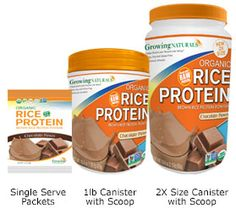 Best brown rice protein powder