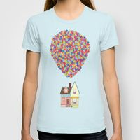 Womens T-shirts featuring Up by LOVEMI DESIGN