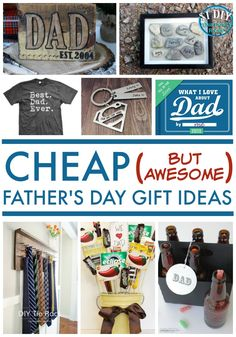 You won't have to spend a fortune on Father's Day with these cheap (but awesome) gift ideas!