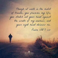 REDE MISSIONÁRIA: PSALM 138:7