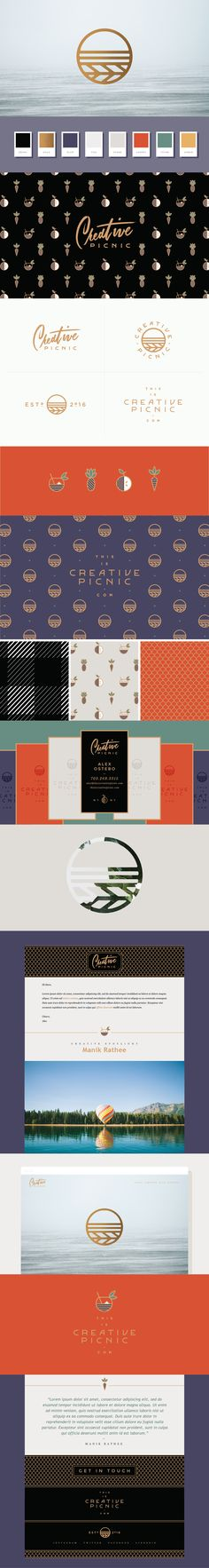 Creative Picnic - Logo & Brand Identity Design by Melissa Yeager