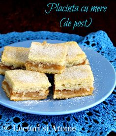 Placinta cu mere de post Placinta asta cu mere este de fapt o alta varianta Romanian Desserts, Romanian Food, Apple Diet, Tasty, Yummy Food, Vegan Sweets, Vegan Food, Vegan Recipes, Dessert Recipes
