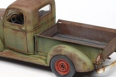 John Tolcher Weather Models, Plastic Model Cars, Scale Models, Tractors, Projects To Try, Toys, Panther, Planes, Rust