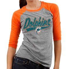 Men's Cleveland Browns Concepts Sport Gray Bleacher Raglan Long Sleeve T-Shirt