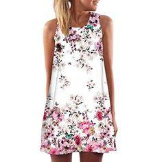 Oferta: 4.99€. Comprar Ofertas de Vestido Para Mujer, Oyedens Vintage Boho Mujer Verano sin mangas Beach Printed Mini vestido corto (S, A) barato. ¡Mira las ofertas!