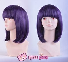 Cosplay Sailor Moon Sailor Saturn Tomoe Hotaru Purple-black Short Wig SP151664 From Feb 15 - 26, SpreePicky is off for Chinese Traditional New Year holiday. Please enjoy self-shopping with coupon codes (valid from Feb15 - 28): * spring15 - 15% off at 80$ * spring20 - 20% off 150$ Available in both sites: spreepicky.storenvy.com www.spreepicky.com During this period, urgent orders would not be processed in time. All orders made during the time will be processed only until Feb 26 when we are…