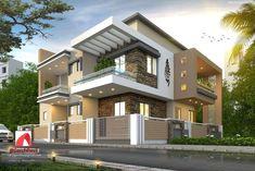 House design, house front design, my home design, modern house desi Bungalow House Design, House Front Design, Small House Design, Modern House Design, Villa Design, Facade Design, Exterior Design, Exterior Homes, Building Exterior