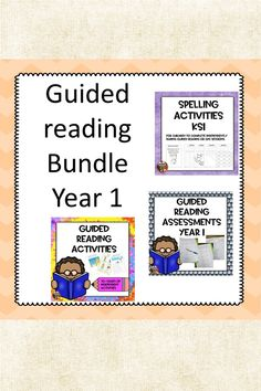 This bundle includes: Over 70 activities for children to complete independently whilst adults are reading with different groups. These activities are linke. Guided Reading Activities, Spelling Activities, Kindergarten Reading, Activities For Kids, Tes Resources, Teaching Resources, National Curriculum, Reading Skills, Reading Comprehension