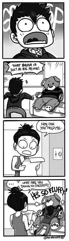 Mondo Mango :: Bear Hug | Tapastic Comics - image 1