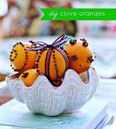Clove Oranges at Hi Sugarplum by hi sugarplum!, via Flickr
