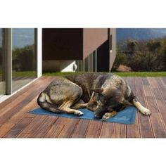 FurHaven Pupsicle Cool Gel Mat Pet Bed, Beige