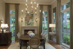 Wish I could find that exact piece of artwork . . . perfect for the LR!   Jenkins Interiors