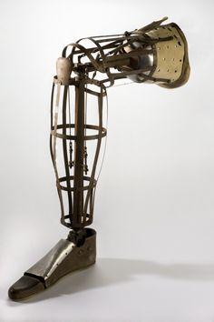Artificial 'Bird Cage' right leg, Europe, 1913-1923
