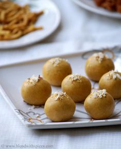 Microwave Besan Ladoo Recipe - Indian Microwave Sweet Recipes - Easy Diwali Sweets | Indian Cuisine