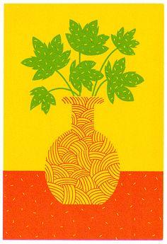 Potted Plants series by Boyoun Kim