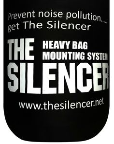 The Silencer Heavy Punching Bag Mount Heavy Punching Bag, Boxing Punching Bag, Boxing Punches, Suspension Trainer, Bag Hanger, Noise Pollution, Mma Training, Boxing Workout, At Home Gym