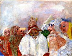The Athenaeum - Masks Mocking Death (James Ensor - )
