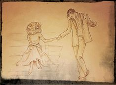 "Really imperfect, but my try about 11th and River.  ""Shall we dance ?"""