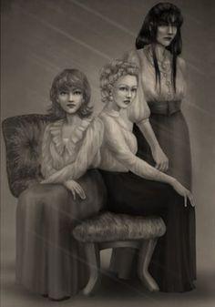 BLACK SISTERS - bellatrix-lestrange Fan Art