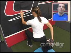 Unlock Your Hip Flexors: Monday Minute Wall Hip Flexor Mobilization YouTub...