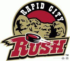 Rapid City  Rush Alternate Logo (2015) -