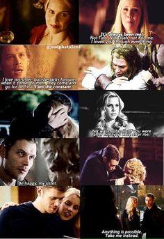 Klaus and Rebekah: Love & Hate
