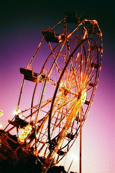 Cross Processed Carnival by Nicole S. Young, via 500px    My next photo assignment is film cross processing. I'm pretty excited. My only experience with x-pro so far has been on my iphone. :/