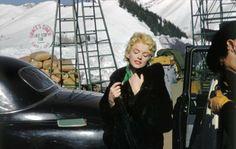 Marilyn Monroe, em 1956, nas filmagens de 'Nunca Fui Santa' (Foto: Reprodução/Allan Whitey Snyder)