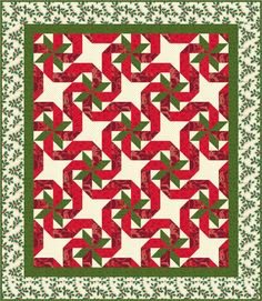 christmas quilt patterns | quilt this quilt looks great in christmas or other colors
