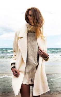 Creamy Detail Layering women fashion outfit clothing style apparel @roressclothes closet ideas