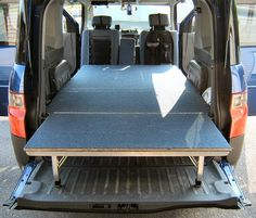 Honda Element Storage Platform