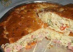A Torta Bauru de Liquidificador é muito prática, saborosa e perfeita para o lanche da sua família. Experimente! Veja Também:Torta de Carne Moída Veja Tamb