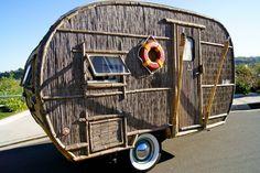 Tiki Hut Camper