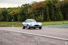 #Jaguar #E_Type à la Dijon Motors Cup Reportage complet : http://newsdanciennes.com/2015/10/05/grand-format-dijon-motors-cup-gt-protos/ #Classic_Car #Cars #Vintage #Voiture #Ancienne