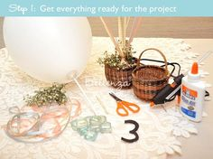 Assemble project materials
